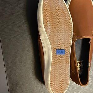 Keds Shoes - Ked's Ortholite Women's Slip-On in Cognac